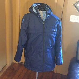 Women's Nike Blue Reversible Jacket